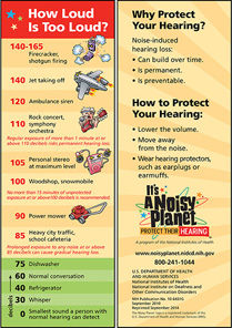 Noisy Planet bookmark