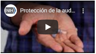 How to use pre-molded earplugs Spanish video.