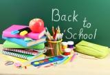 Back to school checklist on a chalk board