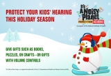 Protect your kids' hearing this holiday season