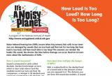 How Loud Is Too Loud? How Long Is Too Long?