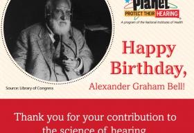 Happy Birthday, Alexander Graham Bell! shareable image
