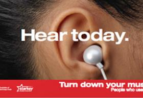 "New York City ads ""Hear today. Gone tomorrow."""