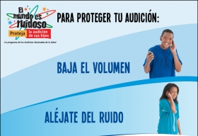 Cómo proteger su audición: baje el volumen, aléjese del ruido y use protectores de oídos.