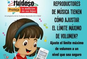 Ajustar el volumen en los reproductores de música